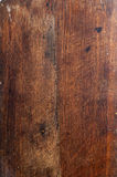 Old wooden kitchen board. Surface of the old wooden planks oak kitchen board Stock Images
