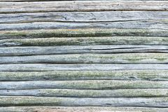 Surface of an old wooden wall Royalty Free Stock Photography