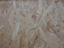 Surface of oriented strand board. OSB stock images