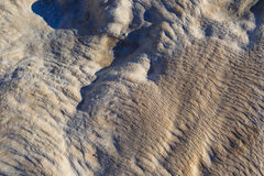 Surface of Pamukkale Royalty Free Stock Images