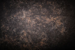 The surface of the pan to the oven for textured metal background. Toned Royalty Free Stock Images