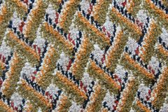 The surface of the patterned carpet stock images