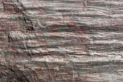 The surface of Phyllite schists of Proterozoic age Stock Photos