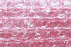 Surface of Pink Plastic Shockproof. Royalty Free Stock Photos