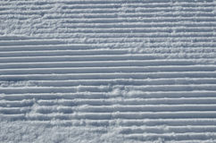 Surface of the piste Stock Photography