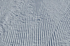 Surface of the piste Stock Images