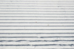 Surface of the piste Royalty Free Stock Image