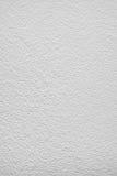 Surface plâtrée peinte par blanc Photo stock