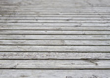 Surface of plank pier Stock Photo
