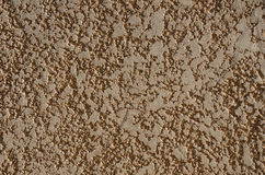 Surface of the plaster wall Stock Image