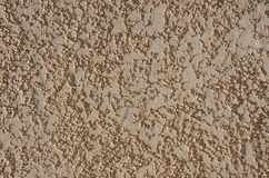 Surface of the plaster wall Royalty Free Stock Image