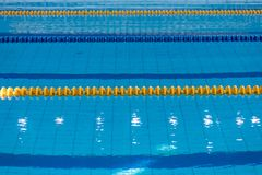 Surface Of The Pool With Blue Water royalty free stock images