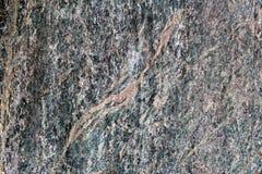 Surface posée métamorphique verte de roche utilisée comme matériel décoratif photos stock