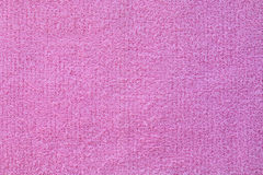 Surface of purple towel Royalty Free Stock Photos