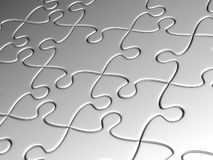 Surface from puzzles Stock Photography