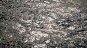Surface réfléchie de mer Photos stock