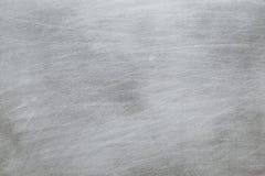 Surface rayée de la plaque de métal Photo libre de droits