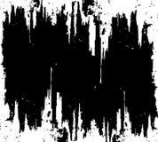 Surface rayée noire grunge Photo libre de droits