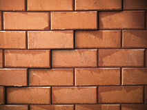 Surface of red brick wall Royalty Free Stock Photography