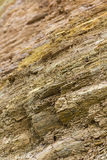 Surface rock cliff Stock Image