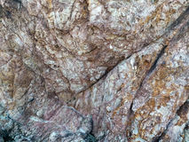 Surface Rock Texture. royalty free stock photo