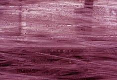 Surface rose d'enveloppe de PVC avec des baisses de l'eau Images libres de droits