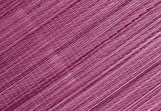 Surface rose de tapis de paille de couleur Photo libre de droits