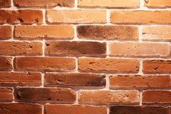 Surface rouge de mur de briques photographie stock libre de droits