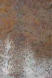 Surface rouillée photo libre de droits