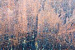 Surface rouillée en métal Images libres de droits