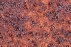 Surface rouillée en métal Image stock
