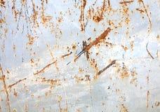 Surface rouillée en métal Photos stock