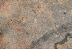 Surface rouillée en métal photos libres de droits