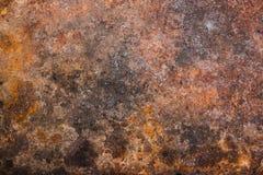 Surface rouillée en métal photo libre de droits