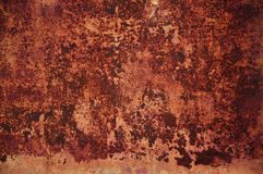 Surface rouillée fanée 4 Photos libres de droits