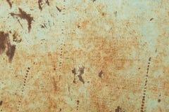 Surface rouillée en métal Photographie stock
