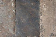 Surface of rusty iron sheet stock photo