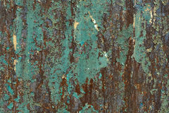 The surface of rusty sheet metal. Royalty Free Stock Image