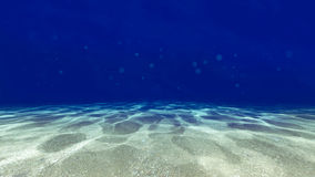 Surface of the sand under water Royalty Free Stock Images