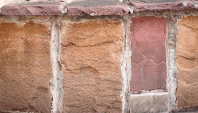 Surface of sandstone. Royalty Free Stock Image