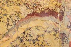 Surface of the Sarrancolin marble stone treated Royalty Free Stock Photo