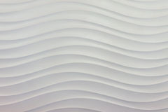 Surface sea wave pattern in white. Tone Royalty Free Stock Image