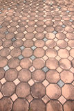 Surface of the sidewalk. Royalty Free Stock Photos
