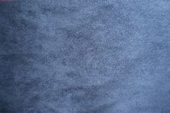 Surface of blue suede from above. Surface of simple blue suede from above Royalty Free Stock Images