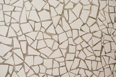 The surface of small tiles. royalty free stock images