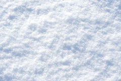 Surface of snow. An image of the surface of snow also affected by severe frost showing ice crystals Royalty Free Stock Photo