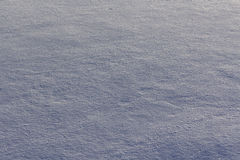 Surface of snow with texture for use Stock Photography