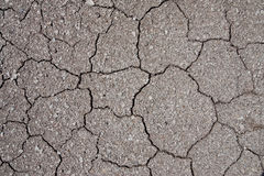 Surface of soil in lignite mine Stock Photos