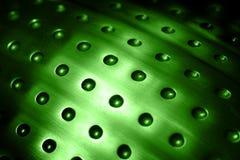 Surface sphérique en métal Photographie stock libre de droits