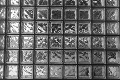 The surface of square glass block Stock Images